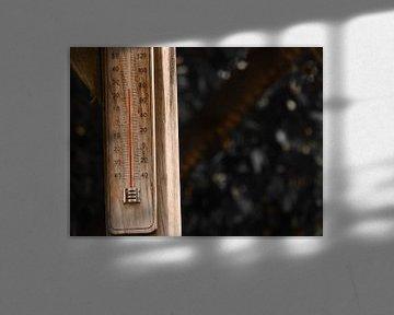 25 graden op de thermometer  von Wilbert Van Veldhuizen