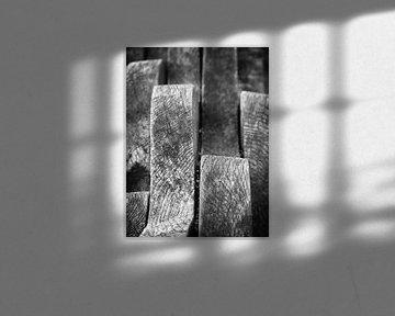 Golvend hout van Inez Wijker