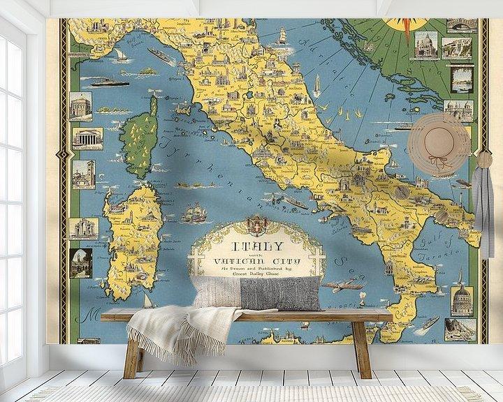 Impression: Italie, avec Cité du Vatican sur World Maps