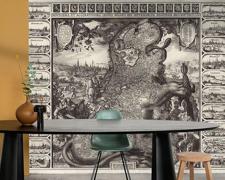 Impression: Leonis Belgici sur World Maps
