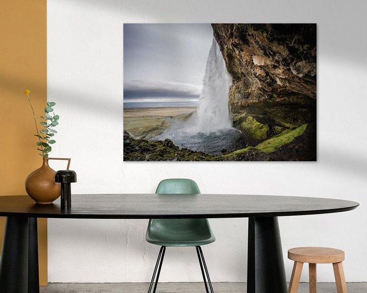 Sfeerimpressie: Seljalandsfoss van Thijs Schouten