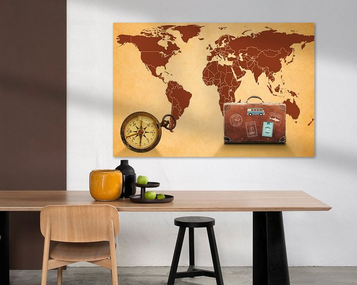 Sfeerimpressie: Reizen over de wereld van World Maps