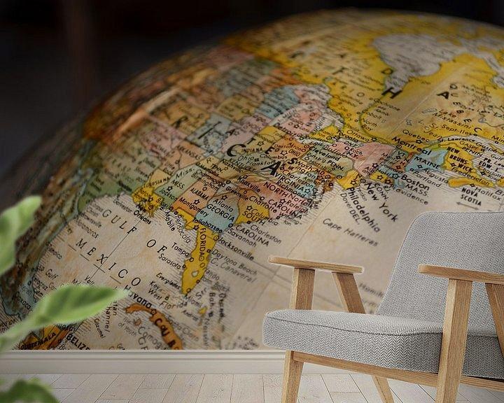 Sfeerimpressie behang: Oost Kust (VS) van World Maps