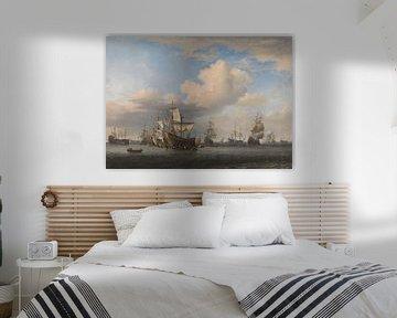 Gefangene Englische Schiffe - Willem van de Velde