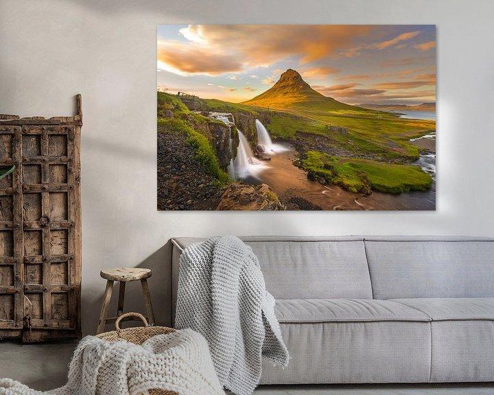 Sfeerimpressie: Magic of Mt. Kirkjufell  van Jack Soffers