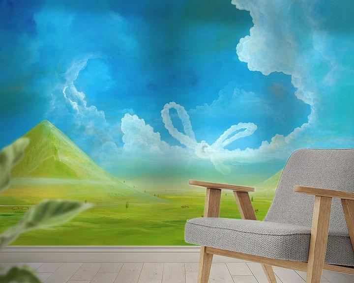 Beispiel fototapete: Wolkenschleife von Art Demo