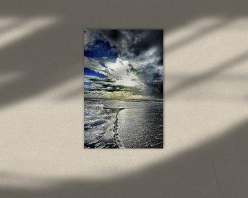 Schaum zeigt dem weg zum Zandvoort