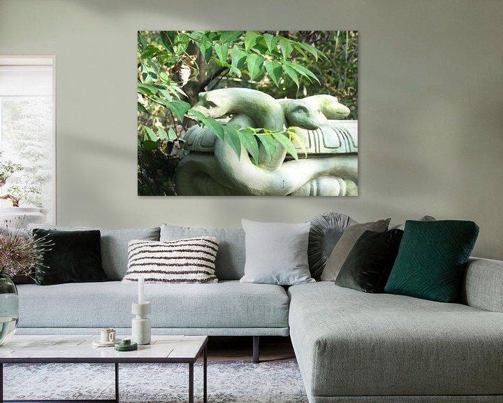 Sfeerimpressie: Schlangen van Ilona Picha-Höberth