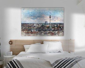 Skyline Berlin von Arjen Roos