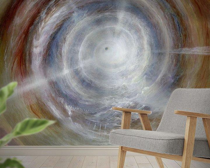 Sfeerimpressie behang: Die Relativität Des Seins van Art Demo