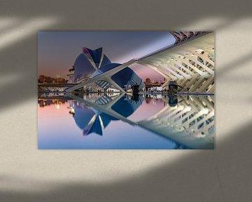 Kunst und Wissenschaft bei Sonnenuntergang von Rene Siebring