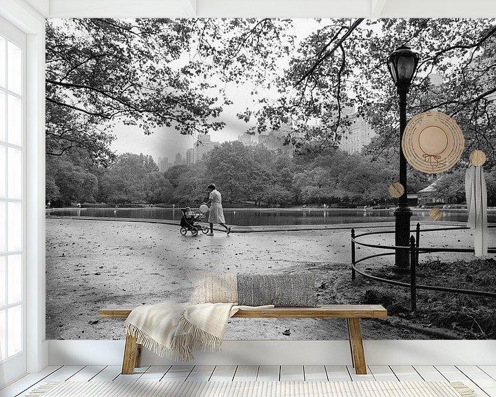 Sfeerimpressie behang: New York Central Park in the Fall van Raoul Suermondt