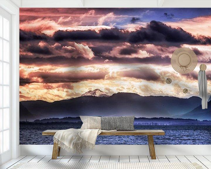 Beispiel fototapete: Wolkenlandschaft von Holger Debek