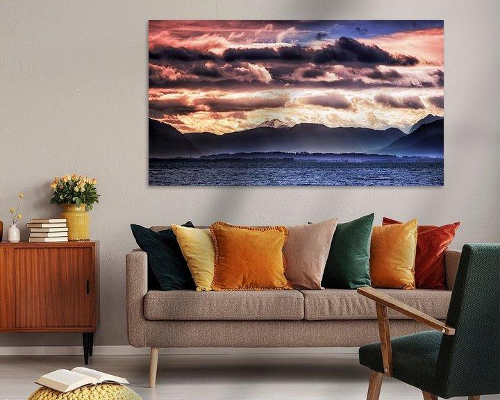Beispiel: Wolkenlandschaft von Holger Debek