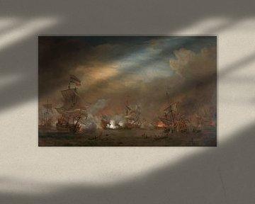 Seeschlacht bei Kijkduin - Willem van de Velde