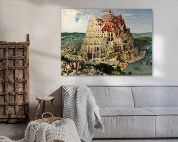 La Tour de Babel, Pieter Bruegel
