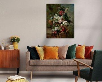 Stillleben mit Blumen - Harmanus Uppink