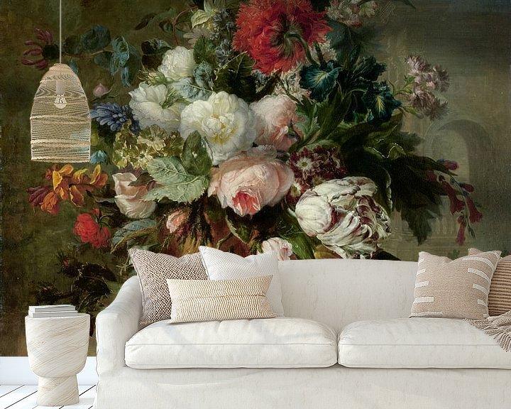 Beispiel fototapete: Stillleben mit Blumen - Harmanus Uppink