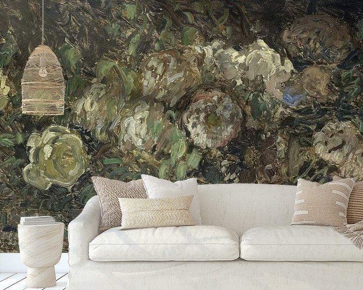 Sfeerimpressie behang: Bloemen, Claude Monet