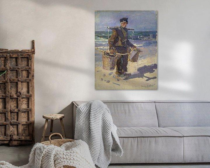 Sfeerimpressie: De schelpenvisser, Jan Toorop