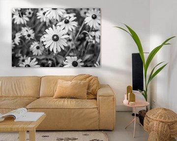 Bloemen in zwart wit von Manon van Goethem