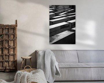 Stoepranden, zwart-wit von Maike Meuter