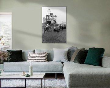 Fähre der 1950er Jahre von Timeview Vintage Images