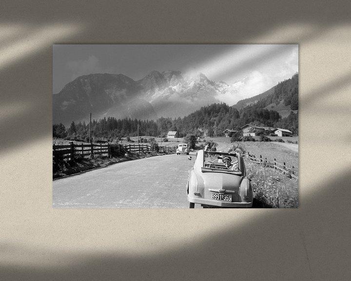 Sfeerimpressie: De Alpen jaren 50 van Timeview Vintage Images