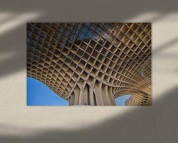 Metropol Sonnenschirm, Sevilla von Wim Mourits
