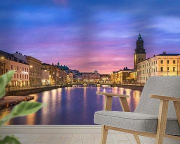 Stora Hamnkanalen - Göteborg van Bart Hendrix