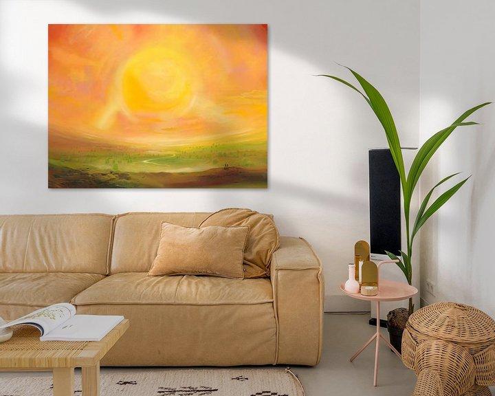 Impression: Kleiner Sonnensturm sur Art Demo