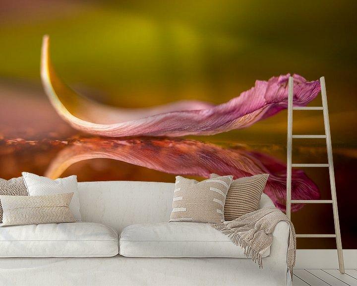 Sfeerimpressie behang: Fallen van Christl Deckx