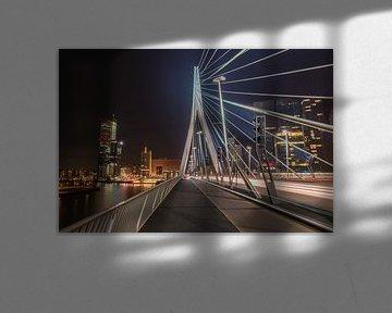 Erasmusbrug Rotterdam  von Martijn Roos