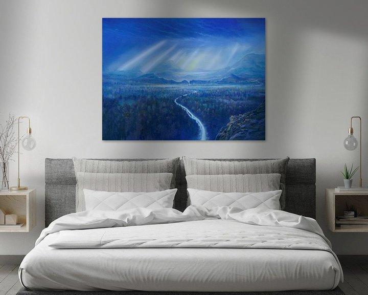 Beispiel: Blaue Wälder von Art Demo