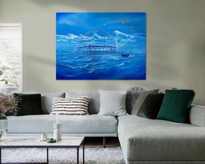 Impression: Badesee im Meer sur Art Demo