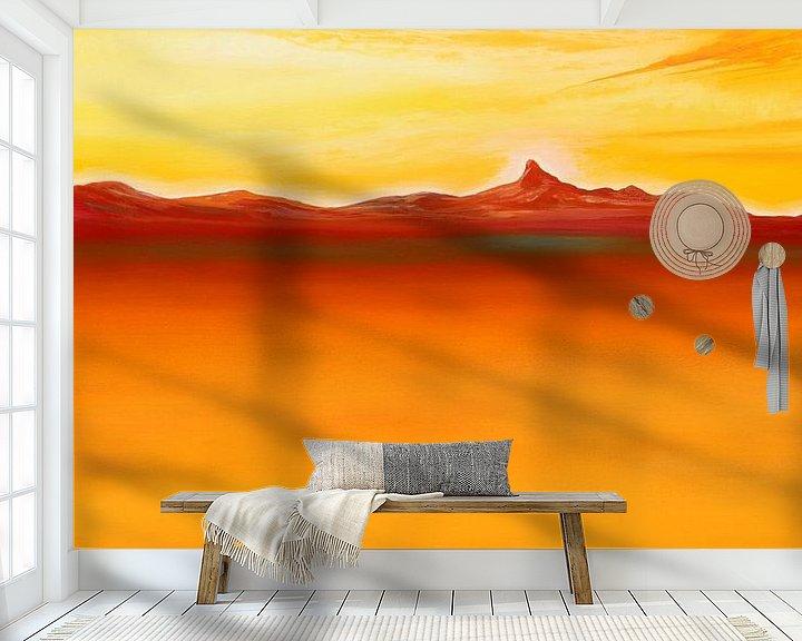 Impression: Oranges Meer sur Art Demo
