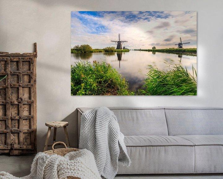 Sfeerimpressie: Kinderdijk van Sander Meertins