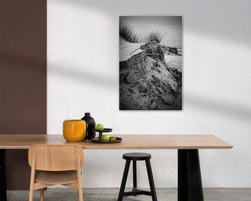 Sand dunes and grass in Schiermonnikoog von Luis Boullosa