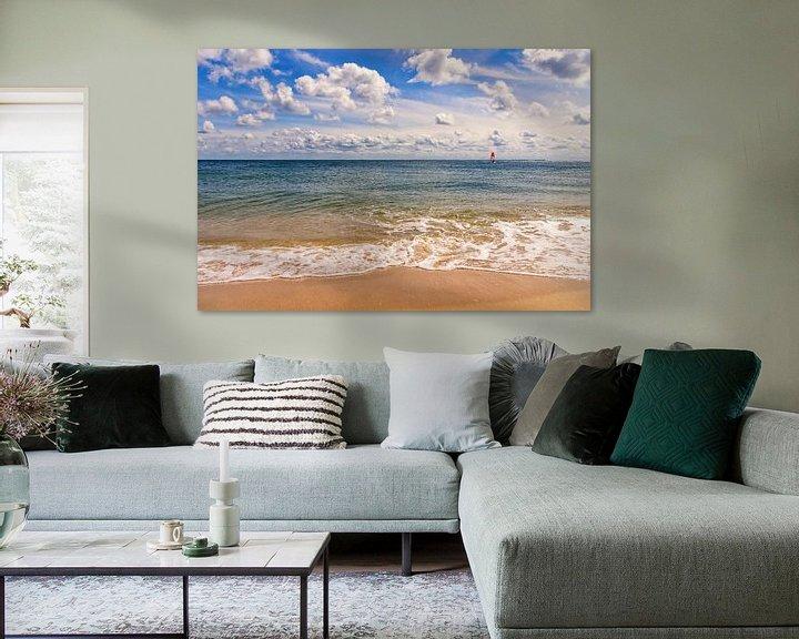 Beispiel:  Strandimpression Hörnum von Angela Dölling