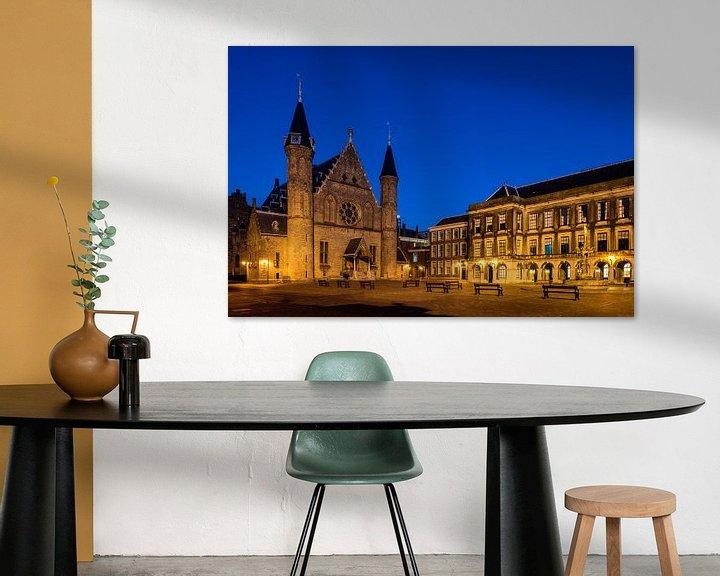 Sfeerimpressie: De Ridderzaal aan het Haagse Binnenhof van John Verbruggen