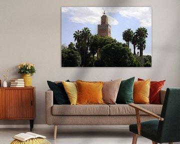 Koutoubia-moskee Marokko von Barbara Koppe