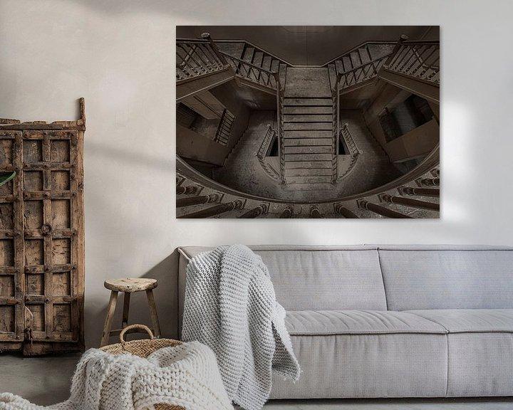 Beispiel: Oud en verlaten wonderlijke wereld van Urbex fotografie  von Ronald Rietveld