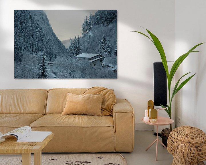 Sfeerimpressie: Winter in de Dolomieten van Barbara Koppe