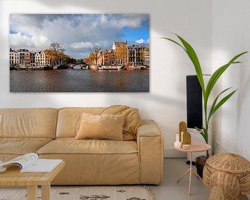 Kanal in Amsterdam von Ipo Reinhold