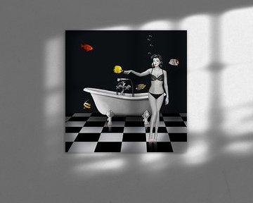 Das seltsame Badezimmer