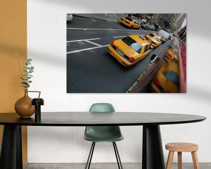 Sfeerimpressie: Yellow Cab van Barbara Koppe