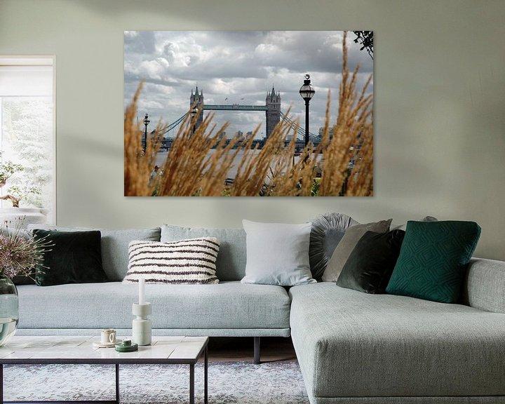Sfeerimpressie: Tower bridge Londen van Barbara Koppe