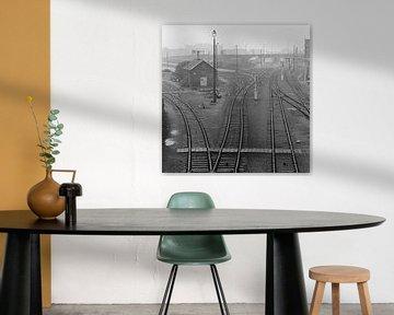Umgebung Hauptbahnhof Antwerpen von Raoul Suermondt