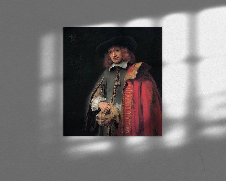 Sfeerimpressie: Portret van Jan Six, Rembrandt