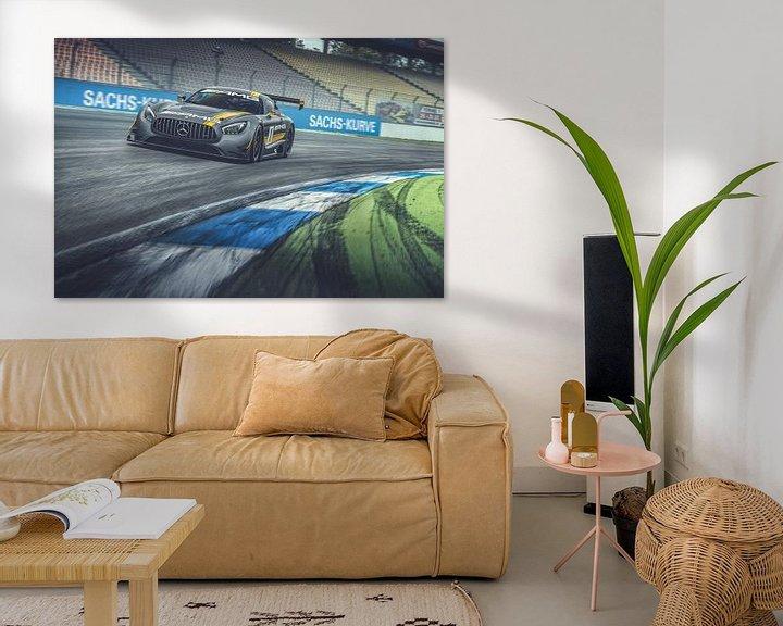 Sfeerimpressie: Mercedes-AMG GT3 van Gijs Spierings
